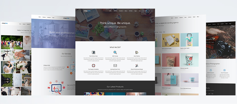 5 Amazing Website Templates Not To Miss In 2017