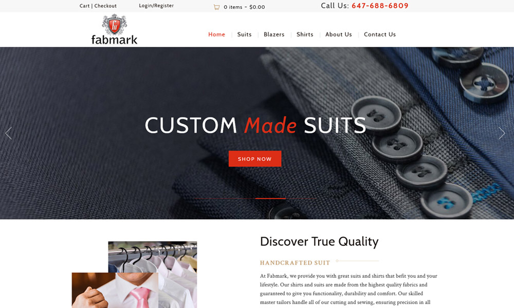 eCommerce Website Design Saskatoon